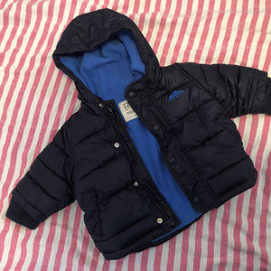 Winter Jacket Blue Coat Puffer Frost Free Old Navy